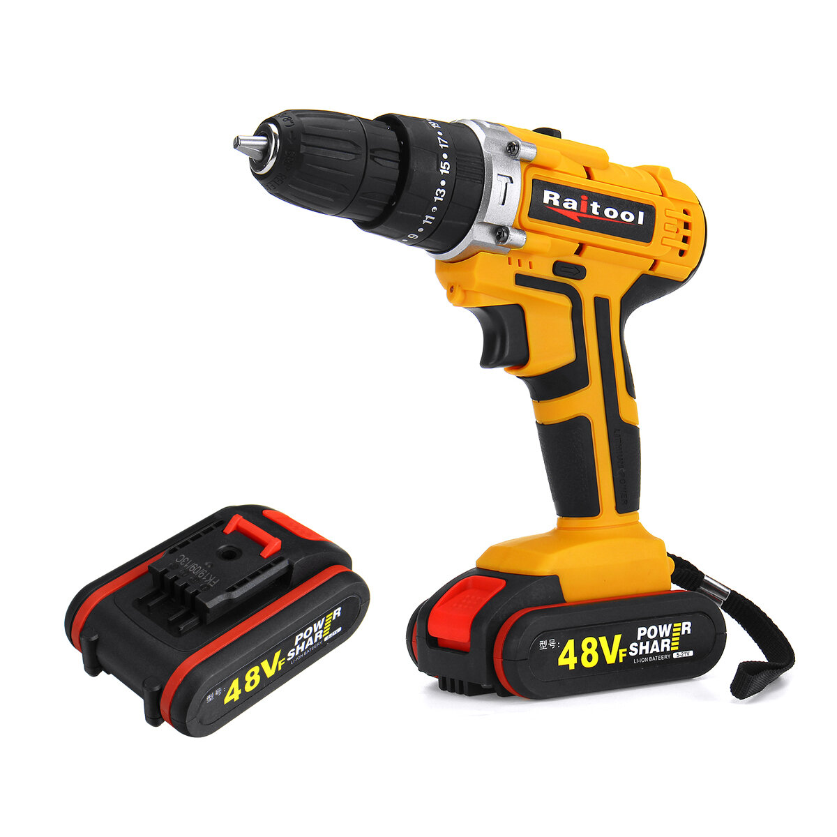 "Li-Battery 21V 3//8/"" Cordless Electric Hammer Drill Driver Rechargeable 2 Speed"