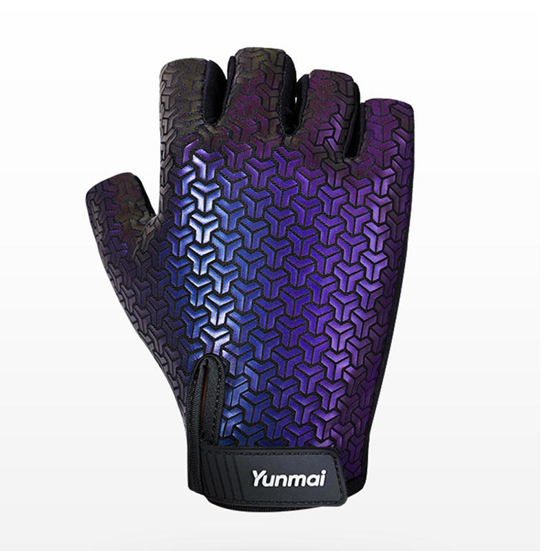 YUNMAI Dazzle Sports Gloves Non-slip Pull-up Horizontal Bar Fitness Gym Gloves Hand Protector
