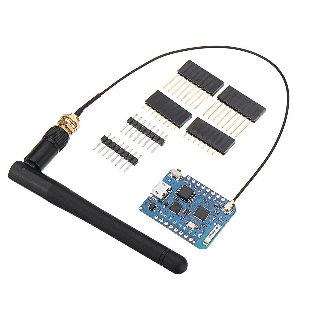 Geekcreit® D1 Mini Pro-16 Module + ESP8266 Series WiFi Antena Nirkabel