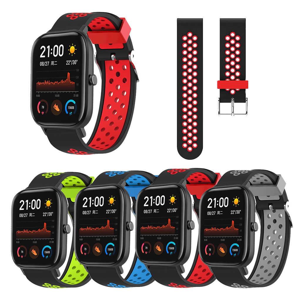 Bakeey Silicone Watch Band Replacement Watch Strap for Amazfit GTS Smart Watch