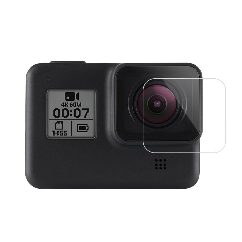 TELESIN GP-FLM-801 9H Tempered Touch Screen Lens Protective Film for GoPro Hero 8 Black Action Camera