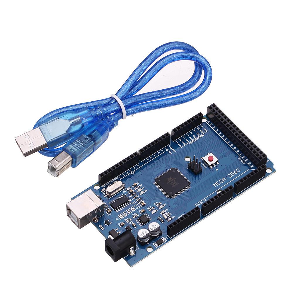 3Pcs Geekcreit® Mega2560 R3 ATMEGA2560-16 + CH340 Module With USB Development Board For Arduino
