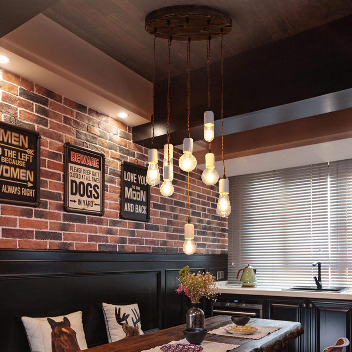 E27 Modern Pendant Light Ceiling Lamp Chandelier Bar Home Kitchen Fixture  Decor