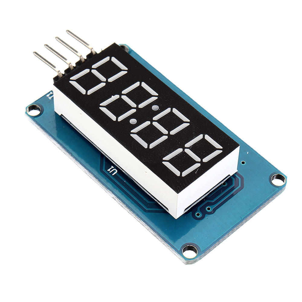 5PCS 4 Bits Digital Tube LED Display Module With Clock Display for Arduino