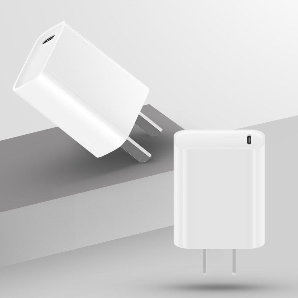 iPhone X XS Huawei P10 Plus P20 Xiaomi MIX 2S Mi6 के लिए Bakeey 18W USB Type C PD फास्ट चार्जिंग चार्ज एडाप्टर