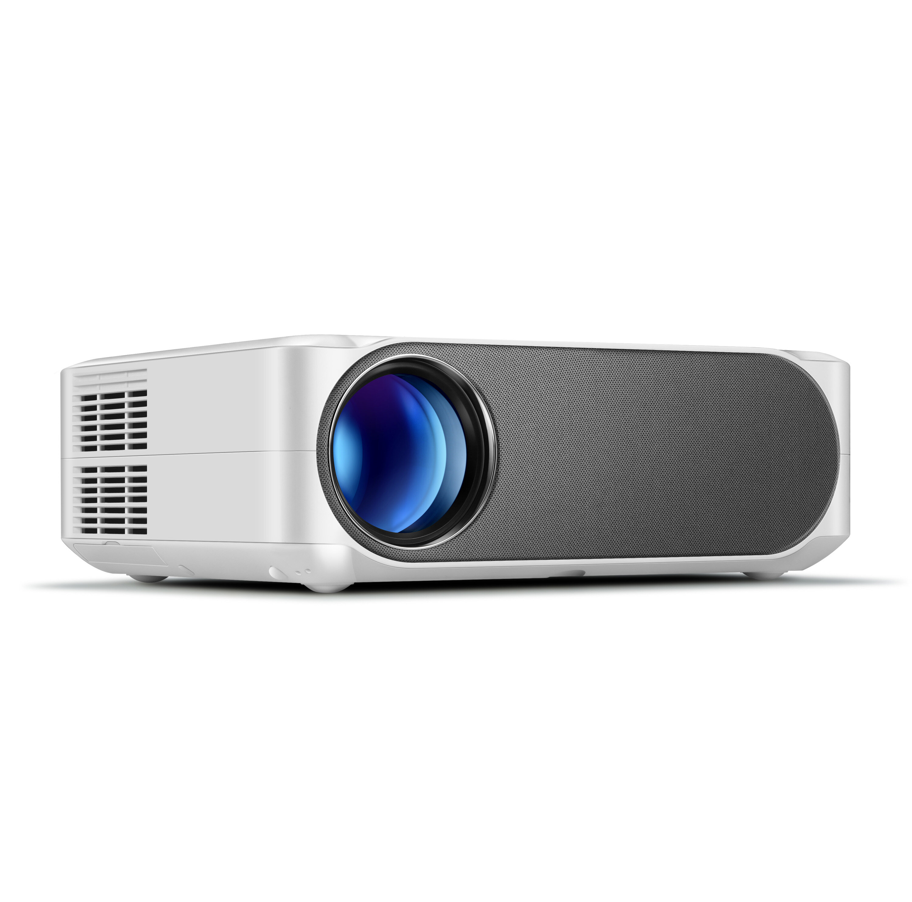 AUN AKEY6 Projector Full HD 1080P Resolution 5800 Lumens Built in Multimedia System Video Beamer LED Projector for Home Theater