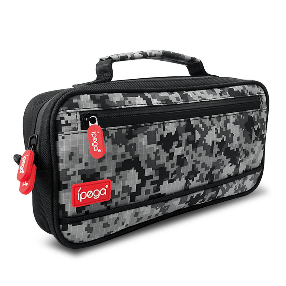 IPEGA PG-9185 Camouflage Storage Bag Game Accessories Organizer For Switch Lite