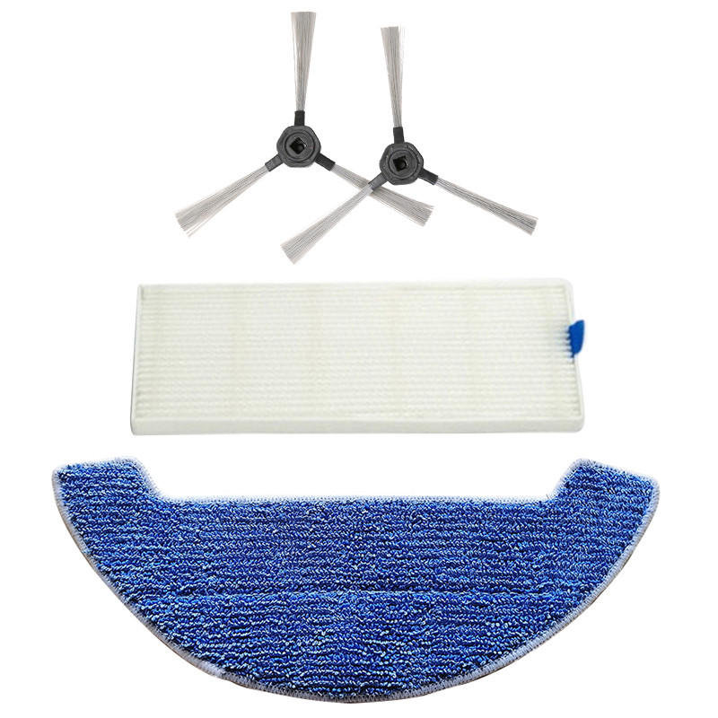 4PCS Replacemnets Accessories High Quality Practical Use for Dibea GT9 D960 Vacuum Cleaner