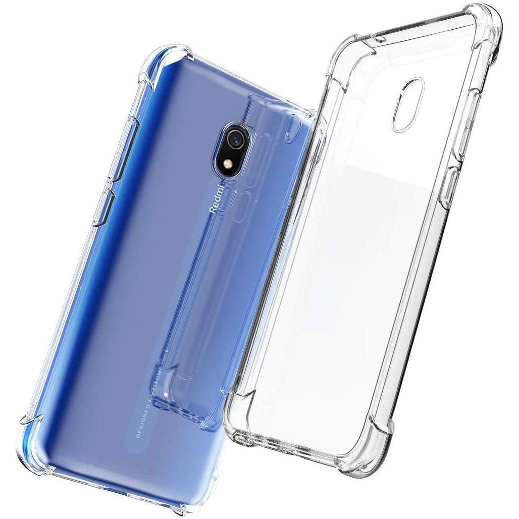 Bakeey Air Bag Shockproof Transparent Soft TPU Protective Case for Xiaomi Redmi 8A