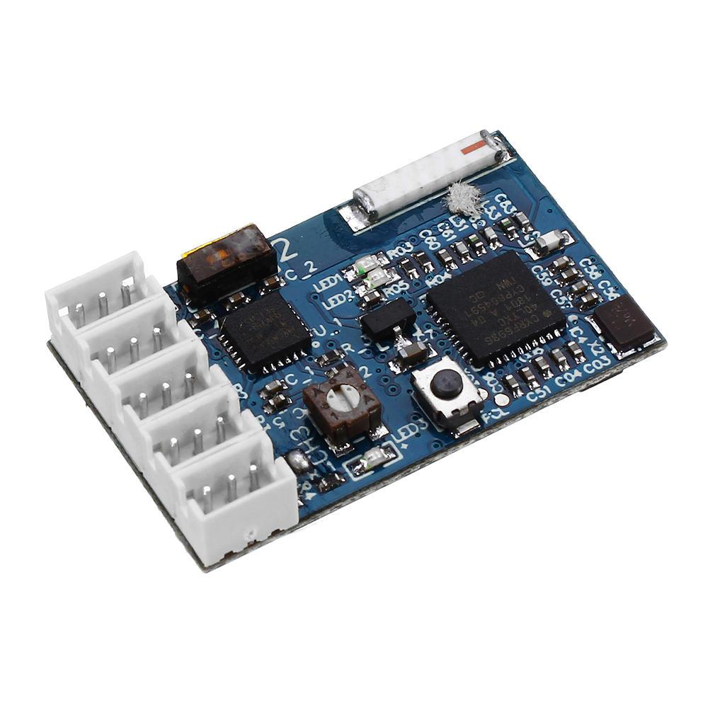 DasMikro Sanwa Micro 4-канальная гироскопическая система Приемник для передатчика RC фото