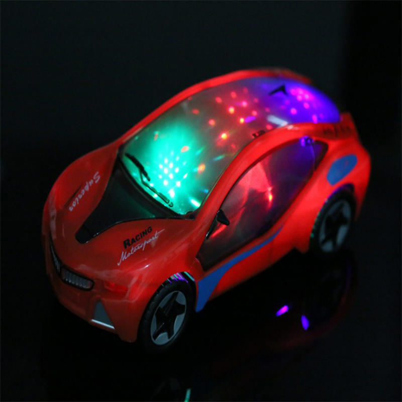 Electronics LED Flashing Lights Car with Music Sound Car Play Vehicles Diecast Model Toys for Kids Gift