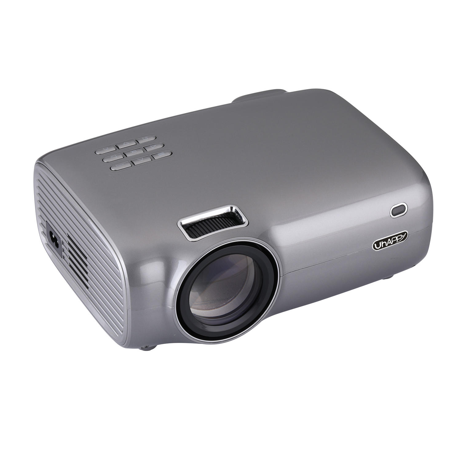 Uhappy U43 LCD 720p Max Support 1080p 2600 Lumens Home theater Mini Projector