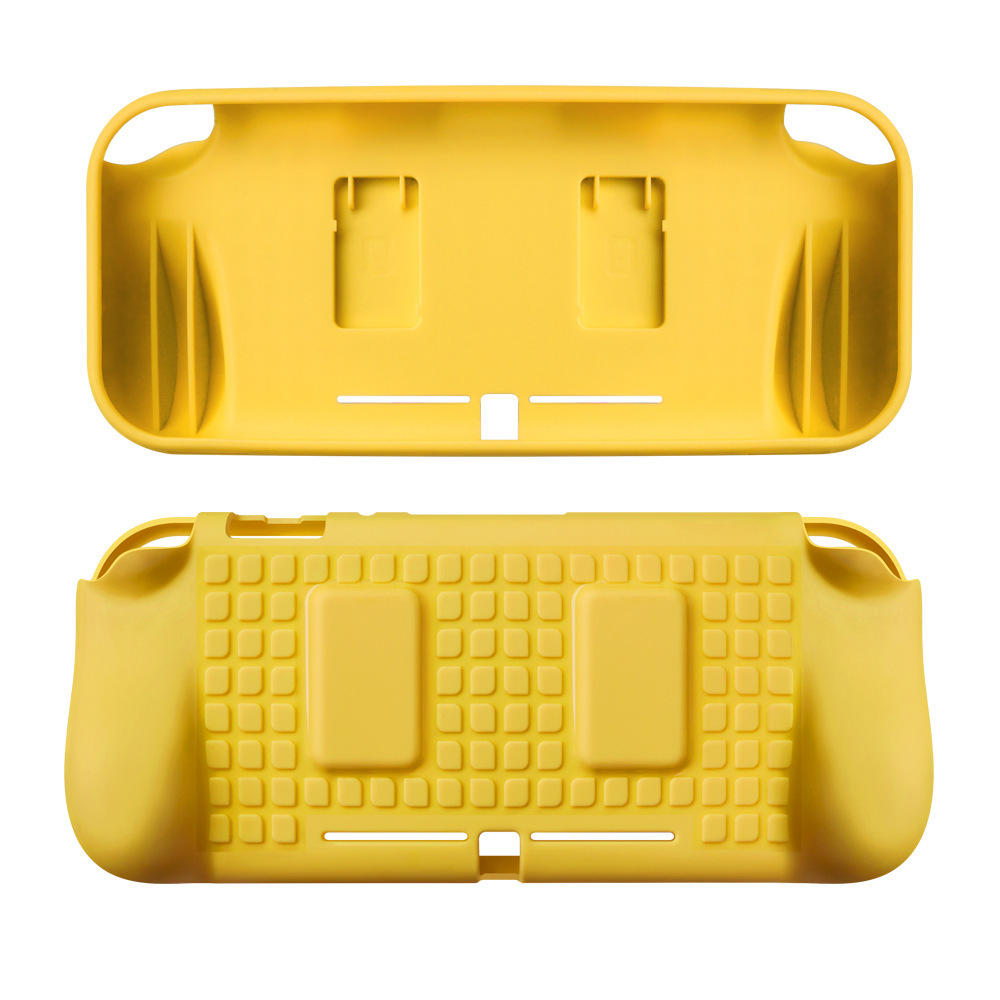 TPU Protective Case Shell Cover with Hand Grip for Nintendo Switch Lite Game Console Game Card Storage Slots, Banggood  - buy with discount