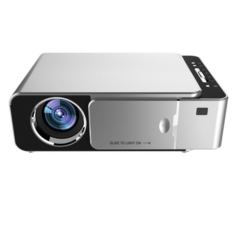 TOPRECIS T6 LCD Projector 1280 x 720P HD 3500 Lumens Mini LED 3D Projector