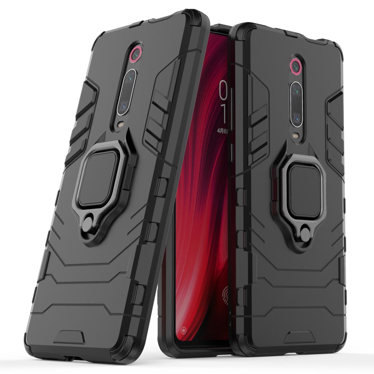 Bakeey Armor Etui de protection antichoc titulaire de la carte magnétique pour Xiaomi Mi 9T / Mi9T PRO/Redmi K20/Redmi K20 pro