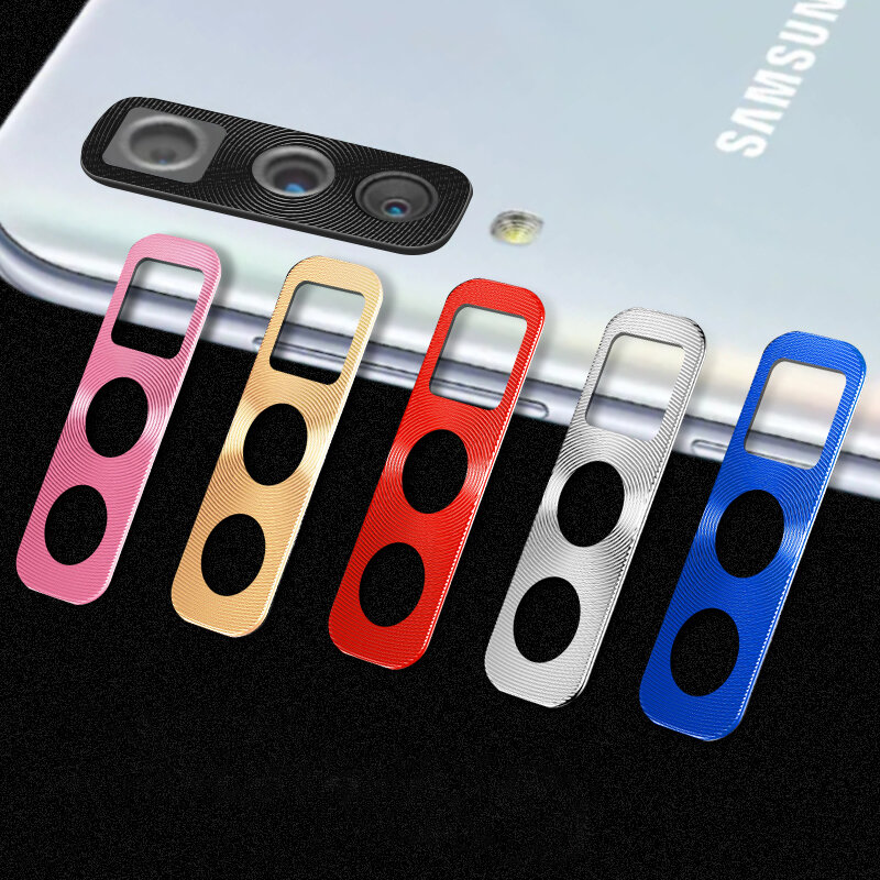 Bakeey Chống trầy xước Vòng tròn kim loại Vòng tròn Điện thoại Camera Bảo vệ ống kính cho Samsung Galaxy A50
