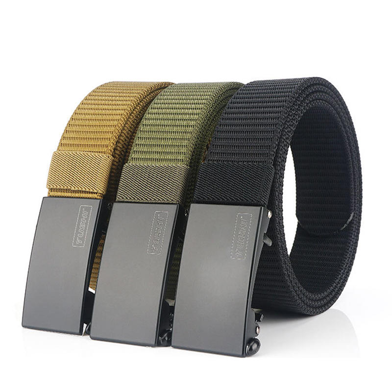 TUSHI K23 120cm x 3.2cm Punch Free Military Tactical Belt Adjustable Nylon Belt Waist Belt