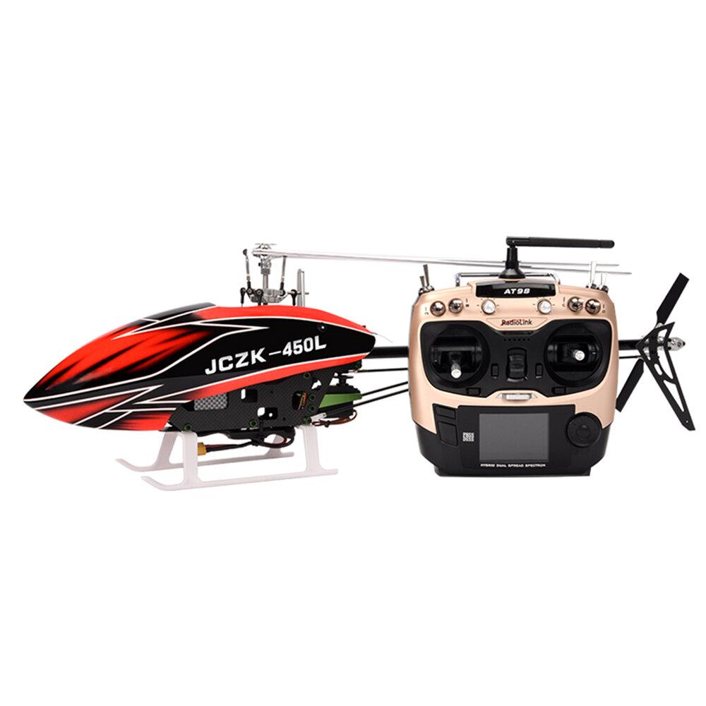 JCZK 450L DFC 6CH 3D Terbang Flybarless GPS One-Key Kembali Cerdas RC Helikopter RTF Dengan 380 Sistem Terbang Cerdas