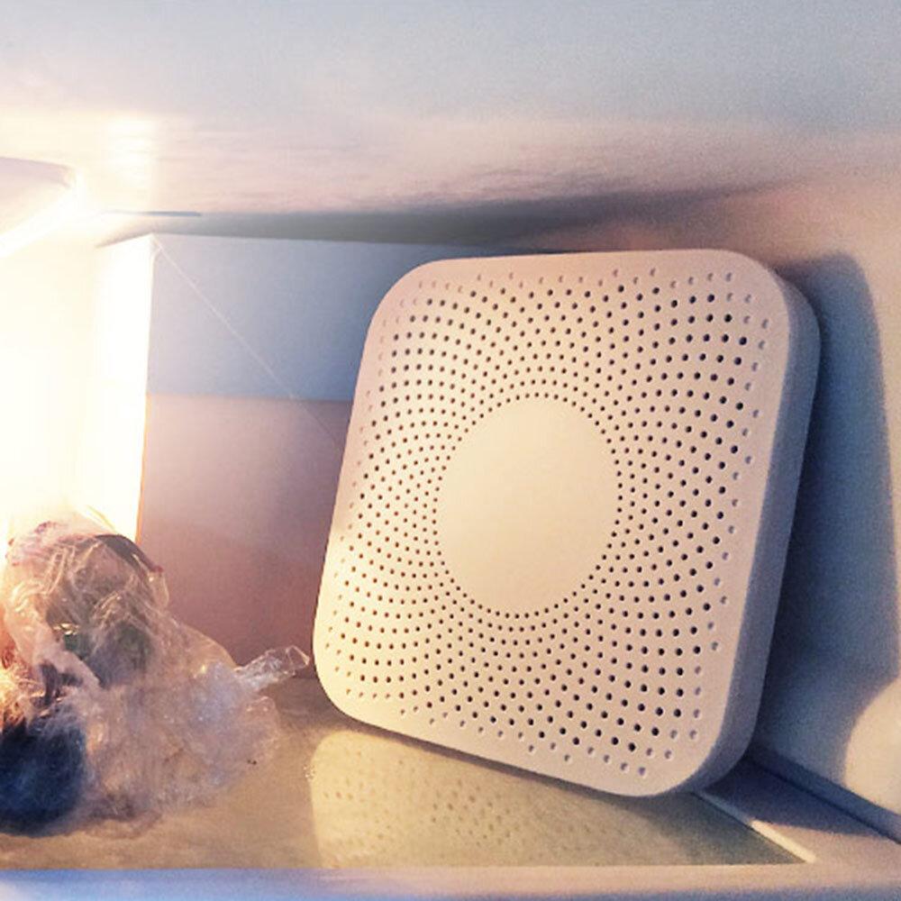 VIOMI VF-2CB Square White Kitchen Refrigerator Air Purifier Household Ozone Sterilizing Deodor Device Flavor Filter Core From Xiaomi Youpin