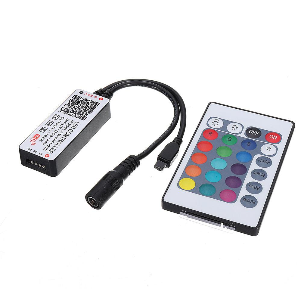 DC5-24V WiFi Smart APP Music Voice Control Controller dimmer a 4 pin per luce di striscia RGB LED