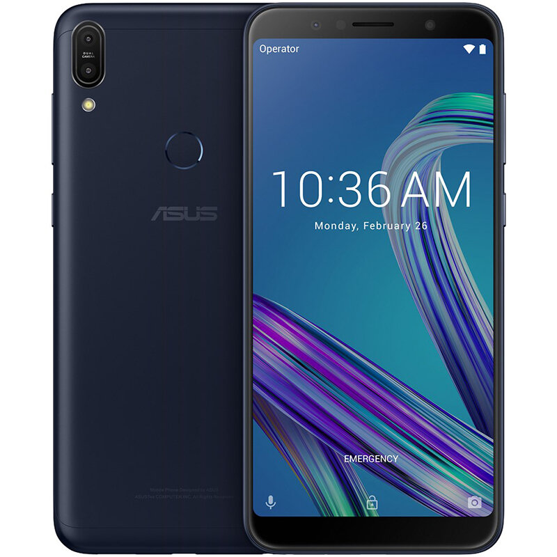 ASUS ZenFone Max Pro M1 ZB602KL Global Version 6.0 Inch FHD+ 5000mAh 4GB 64GB Snapdragon 636 Octa Core 4G Smartphone