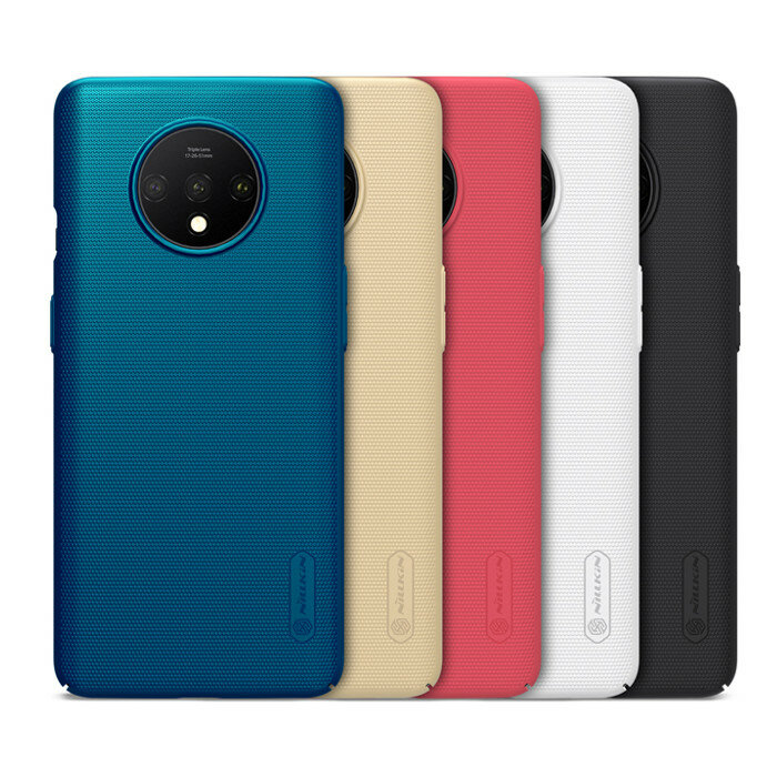 Nillkin Frosted Anti-Fingerprint PC Hard Protective Case for OnePlus 7T