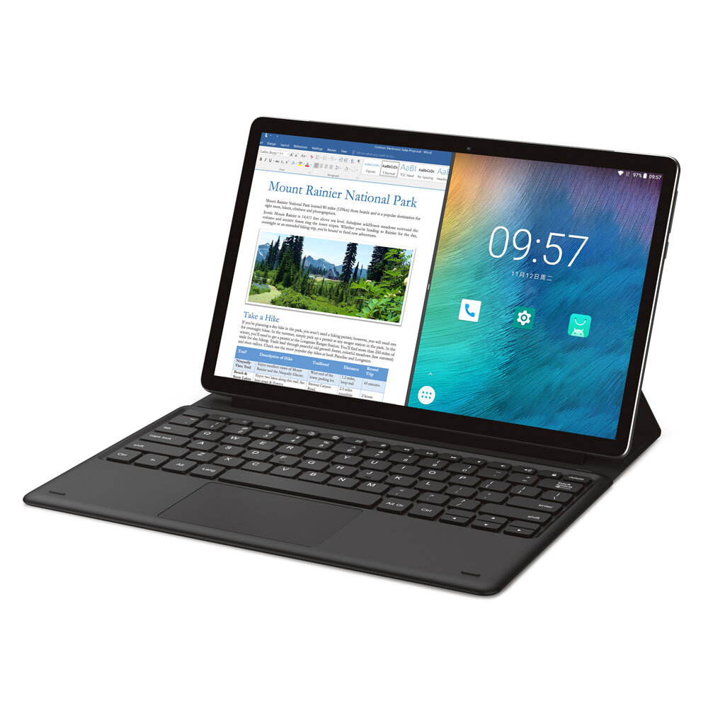 Teclast M16 Helio X27 Deca Core Processor 4GB RAM 128GB ROM 11.6 Inch Android 8.0 Tablet PC con Teclado
