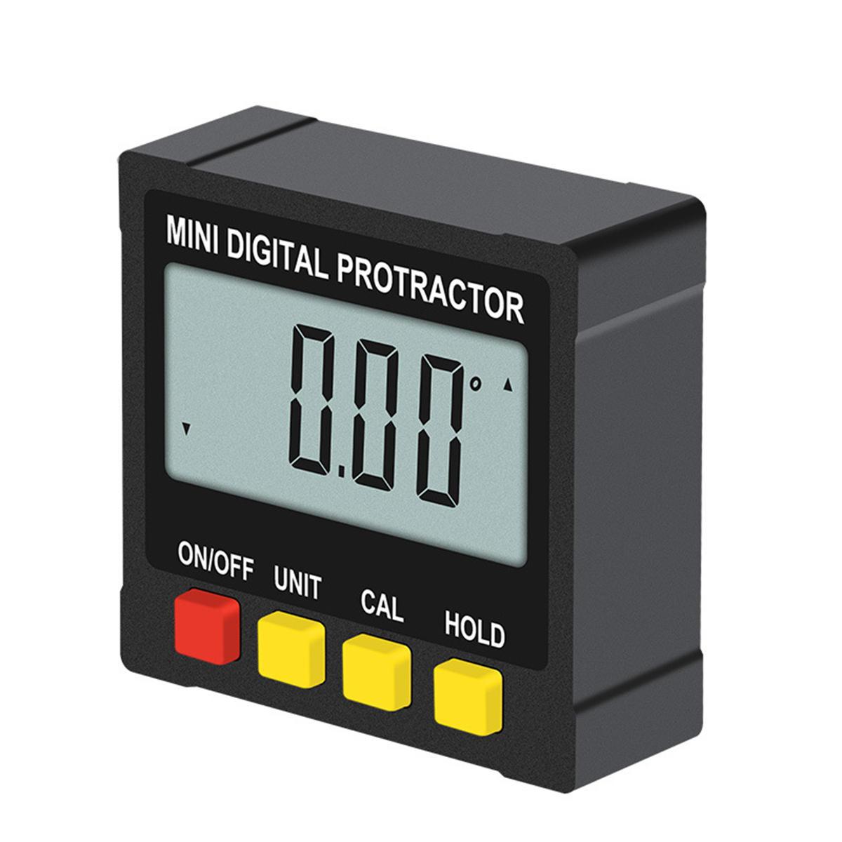 Magnetic Digital Protractor Angle Finder Bevel Level Box Inclinometer Meter 2020