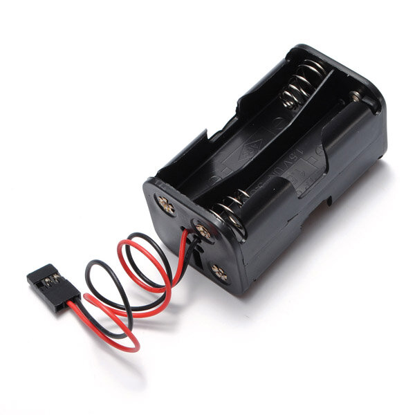 4 x AA RC Battery Holder Case Box JST Male for RC Car Receiver