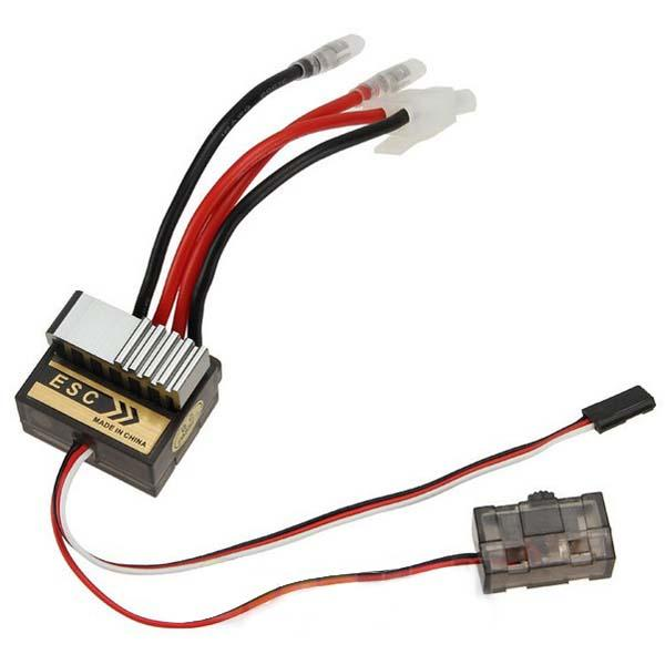 320A Brushed Speed Controller ESC for RC Car Truck Boat 1/8 1/10
