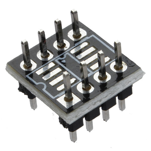 1Pcs SOP8 SO8 SOIC8 TO DIP8 Adapter PCB SMD Converter Board