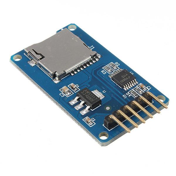 Micro SD TF Card Memory Shield Module SPI Micro SD Adapter For Arduino