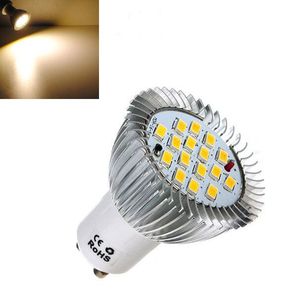 GU10 6.4W 16 SMD 5630 LED Warm White Energy Saving Spot Bulb 85-265V