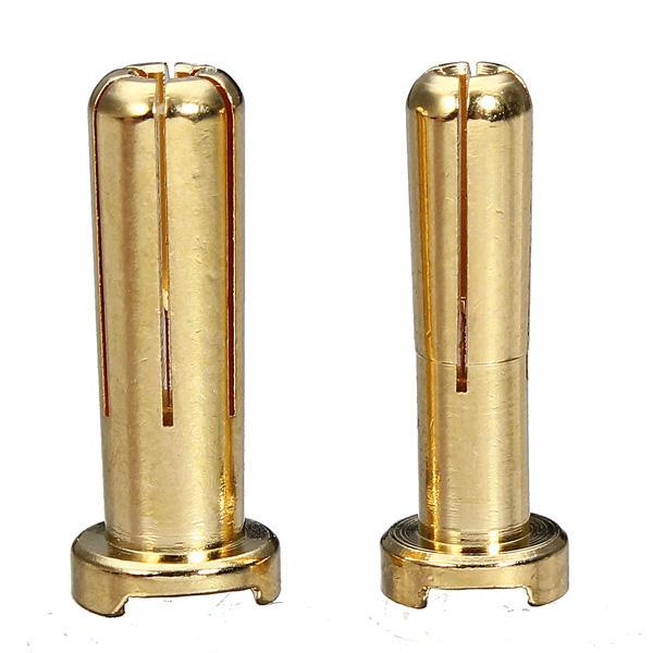 4mm 5mm pisang Plug Plated 7U Gold