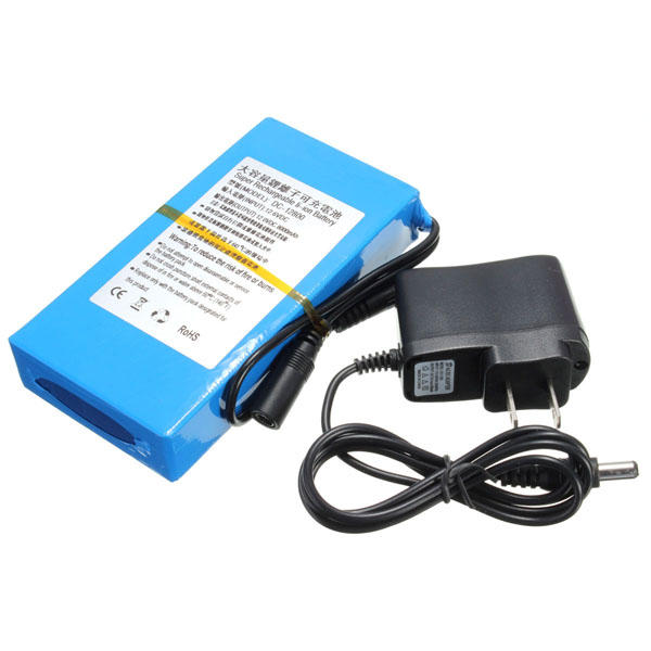 Lithium Battery Pack >> Dc 12v 8000mah Super Rechargeable Portable Lithium Ion Battery Pack