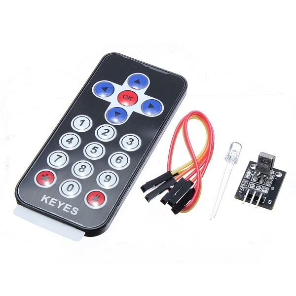 Infrared IR Receiver Module Wireless Remote Control Kit For