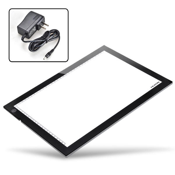 HUION A4 LED Light Box Ultra Thin Drawing Tracing Sketch Table Board