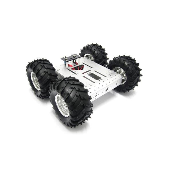 4WD Off-roading WIFI Smart Robot Car Kit with 4Pcs Motors For Arduino Raspberry Pi