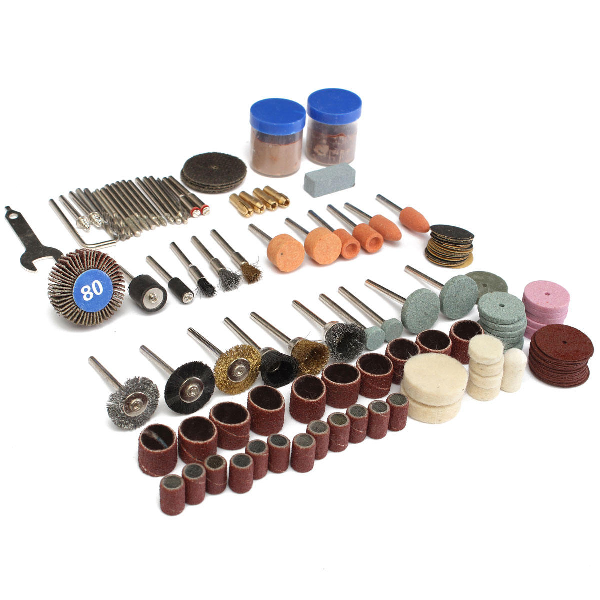 136pcs Rotary Tool Accessories Bit Set Polishing Kits Polishing Wheel For Dremel