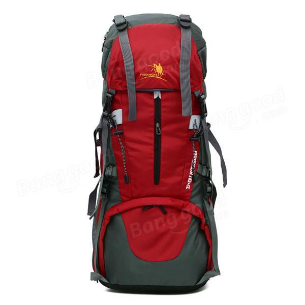 Men Women Waterproof Outdoor Travel Nylon Climbing Big Capacity Backpack Shoulder Bag, Banggood  - buy with discount