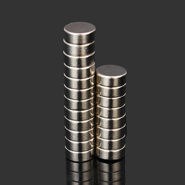 Magnet Pack of 10 4mm x 4mm Button Neodymium