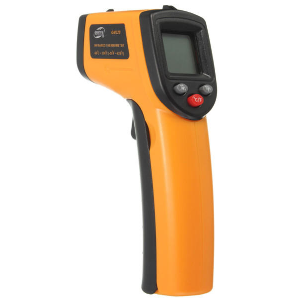 GM320 Non-Contact Laser LCD Display Digital IR Infrared Thermometer Temperature Meter Gun -50℃ to 330℃