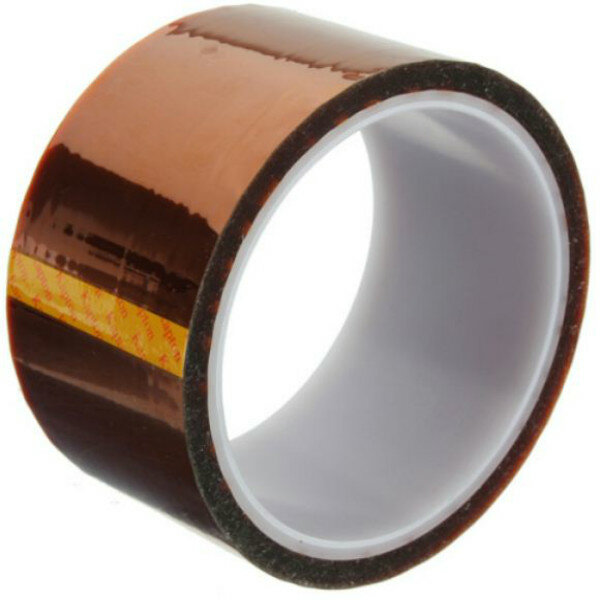 Excellway High Temperature Heat Resistant Kapton Tape Polyimide 50MM x 30M
