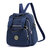 Women Lady Nylon Elegant Stylish Multipurpose Backpack Travel Shoulder Bag