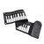 Portable 49 Keys Hand Roll-Up Piano MIDI Electronic Keyboard