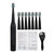 5 Modes Electric Toothbrush Sonic Power IPX7 Waterproof With 8 Brush Heads