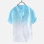 Mens Gradient Color Summer Trendy Cotton Breathable Loose Casual T Shirts
