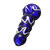Portable 10cm T obacco C igar ette Mini S moking Glass Pipe Filter Durable Gift Straw