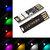 5 पीसीएस LUSTREON 1.5W एसएमडी5050 बटन स्विच Colorful पावर बैंक के लिए यूएसबी एलईडी कठोर पट्टी नाइट लाइट 5V