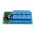 R221A08 8CH Serial Port Relay Module DB9 UART RS232 Remote Control Switch 12V DC for Smart Home